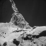 世界で最初の彗星のグラビア写真!?着陸機フィラエが撮影した彗星の写真がロマンを感じる